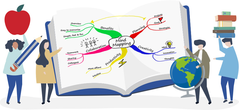 Mind map en milieu éducatif